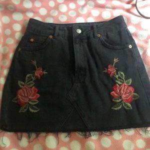 Topshop denim skirt. Fits like a 4.